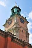 storkyrkan的斯德哥尔摩 库存照片