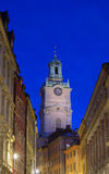 Storkyrkan, старый городок, Стокгольм, Швеция Стоковые Фотографии RF