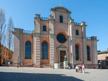 Storkyrkan - the cathedral of Stockholm Royalty Free Stock Images