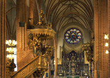 Storkyrkan (Church of St. Nicholas - The Great Church) in Stockholm. Sweden.  Stock Photos