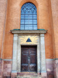 Storkyrkan's entrance Stock Images