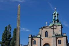 Storkyrkan, Stoccolma Immagine Stock Libera da Diritti