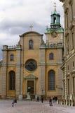Storkyrkan (stor kyrka) Arkivfoton