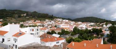 Storm över Monchique Arkivbild
