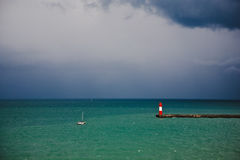 Before a storm Royalty Free Stock Images