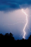 Storm. High lightning nature storm thunder Stock Photography