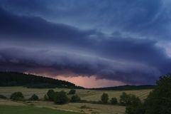 Before storm royalty free stock photo