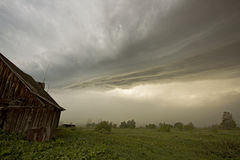 The storm Stock Photography