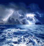 Storm royalty free stock photography