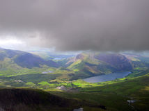 After the storm. Snowdonia landscape after a storm - Wales Royalty Free Stock Photography