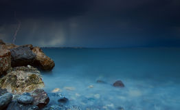 The Storm. Shot in Kammena Vourla / Greece Royalty Free Stock Photos