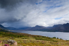 Storm above Loch Torridon Stock Photography