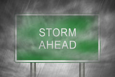 Storm Ahead Royalty Free Stock Images