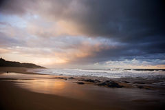 Storm approaching. I was delighted to capture this moody image of an approaching storm Stock Images