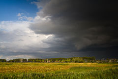 Storm approaching stock images