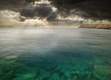 Storm around Hawaii Stock Photography