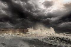 Free Storm At Sea Royalty Free Stock Photography - 221357247