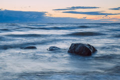 Storm in Baltic Sea. Stock Photography