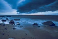 Storm at Baltic sea. Stock Image