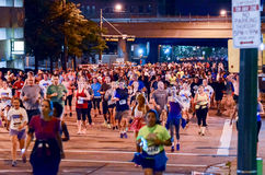 Storm the Bastille 5K Race Royalty Free Stock Photography