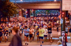 Storm the Bastille 5K Race Stock Image