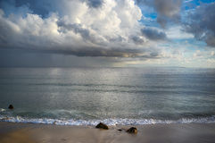 Storm on the Beach. Tarifa. Cadiz. Andalusia Royalty Free Stock Photos