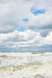 Storm at Black sea Royalty Free Stock Photography