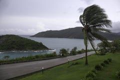 The storm blew Laem Phrom Thep in andaman sea at Phuket, Thailan Stock Photography