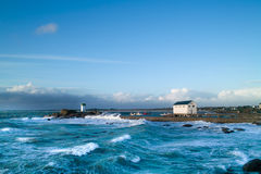 Storm in brittany. Near concarneau Stock Images