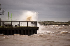 Storm in Buenos Aires Stock Photos