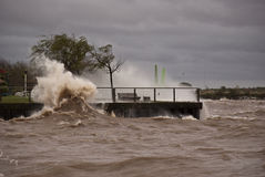 Storm in Buenos Aires Stock Images