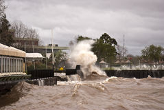 Storm in Buenos Aires Royalty Free Stock Photography