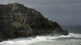 Storm at Cape Point Royalty Free Stock Images