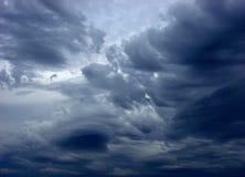 Storm cloud stock photography