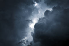 Storm Cloud Background Royalty Free Stock Photos