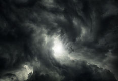 Storm Cloud Background Royalty Free Stock Photo