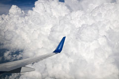 Storm Cloud Flight Royalty Free Stock Images