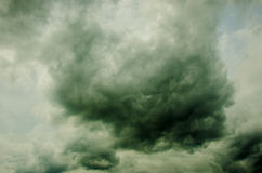Storm cloud Royalty Free Stock Images