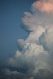 Storm cloud in the sky Stock Image