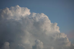 Storm cloud in the sky Royalty Free Stock Image