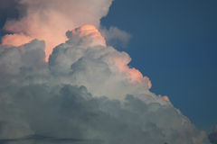 Storm cloud in the sky Stock Images