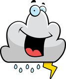 Storm Cloud Smiling Stock Images