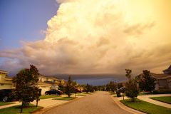 Storm cloud Stock Images