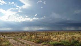 Storm Cloud Timelapse in America stock video footage