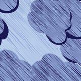 Storm clouds. Background illustration, art Stock Photo