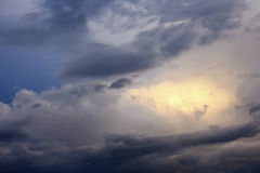 Storm clouds. Royalty Free Stock Images