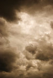 Storm clouds. Gloomy clouds have shrouded the sky before a thunder-storm Royalty Free Stock Photography