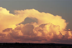 Storm clouds. Over Arizona Royalty Free Stock Image