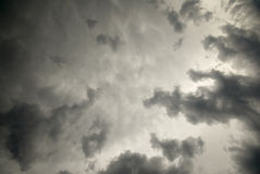 Storm Clouds Stock Image