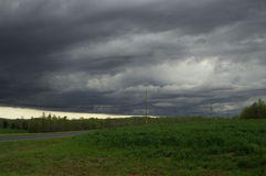 Storm clouds. Stormy day stock photo